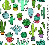 colorful seamless pattern of... | Shutterstock .eps vector #631620914