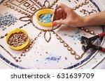 Artist  Mosaic Tools  Hand...
