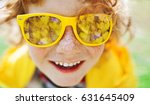 season  emotions and people... | Shutterstock . vector #631645409
