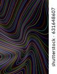 abstract rainbow geometric... | Shutterstock . vector #631648607