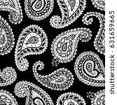 paisley seamless pattern....   Shutterstock .eps vector #631659665