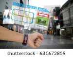 iot  internet of things concept ... | Shutterstock . vector #631672859