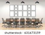 picture frame interior set in... | Shutterstock . vector #631673159