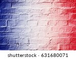 abstract patriotic red white... | Shutterstock . vector #631680071