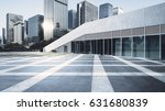 empty brick road nearby office... | Shutterstock . vector #631680839
