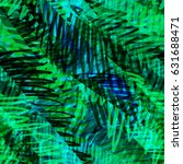 green and blue strokes. like... | Shutterstock .eps vector #631688471