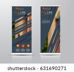 roll up vertical banner... | Shutterstock .eps vector #631690271