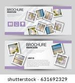 flyer template. banner or web... | Shutterstock .eps vector #631692329