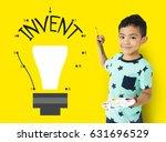 design ideas invent knowledge... | Shutterstock . vector #631696529