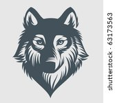 Wild wolf. Vector Graphics
