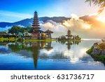 pura ulun danu bratan temple in ... | Shutterstock . vector #631736717