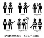 public safety jobs and... | Shutterstock .eps vector #631746881