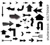 set of arrows | Shutterstock .eps vector #631750469