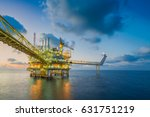 offshore oil and gas business... | Shutterstock . vector #631751219