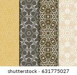 set of floral ornament.... | Shutterstock .eps vector #631775027