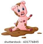 vector illustration of cartoon...   Shutterstock .eps vector #631776845
