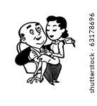 boss dictating a letter   retro ... | Shutterstock .eps vector #63178696