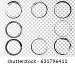 vector frames. circle for image.... | Shutterstock .eps vector #631796411