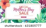template design discount banner ... | Shutterstock .eps vector #631805777