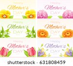 happy  mothers day greeting... | Shutterstock .eps vector #631808459