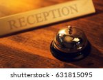 Reception Bell At Hotel Check...