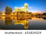 scenic panorama cityscape of...   Shutterstock . vector #631824329