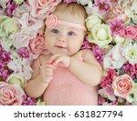 little baby flowers | Shutterstock . vector #631827794