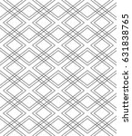 seamless geometric vector... | Shutterstock .eps vector #631838765