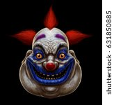 Evil Scary Smiling Fat Clown....