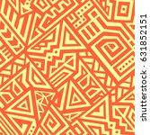 seamless vector texture in... | Shutterstock .eps vector #631852151
