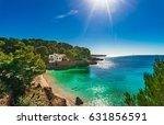 beautiful island scenery ... | Shutterstock . vector #631856591