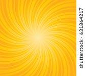 yellow burst background.... | Shutterstock .eps vector #631864217