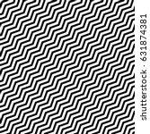 vector seamless pattern. modern ... | Shutterstock .eps vector #631874381