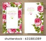 vector botanical vertical... | Shutterstock .eps vector #631881089