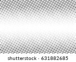 abstract halftone dotted... | Shutterstock .eps vector #631882685