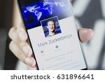 Small photo of Johor, Malaysia - Feb 8, 2017: Mark Elliot Zuckerberg is the chairman, chief executive officer, and co-founder of Facebook, Feb 8, 2017 in Johor, Malaysia.