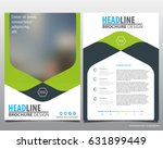 abstract vector modern flyers...   Shutterstock .eps vector #631899449