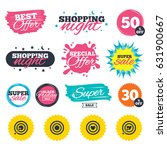 sale shopping banners. special...   Shutterstock .eps vector #631900667