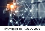 networking technologies and... | Shutterstock . vector #631901891