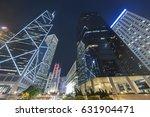 high rise modern office... | Shutterstock . vector #631904471