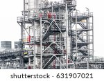 industrial zone the equipment... | Shutterstock . vector #631907021