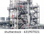 industrial zone the equipment... | Shutterstock . vector #631907021
