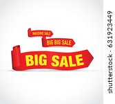 Set Of Three Sale Red Signs