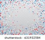 usa celebration confetti stars... | Shutterstock .eps vector #631932584