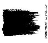 ink vector brush strokes.... | Shutterstock .eps vector #631938869