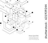 hexagons genetic  science ...   Shutterstock .eps vector #631939244