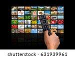screens forming a big... | Shutterstock . vector #631939961