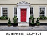 exterior of a luxury town house | Shutterstock . vector #63194605