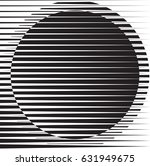 circle logo with lines.unusual... | Shutterstock .eps vector #631949675