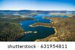 aerial panorama of lake... | Shutterstock . vector #631954811